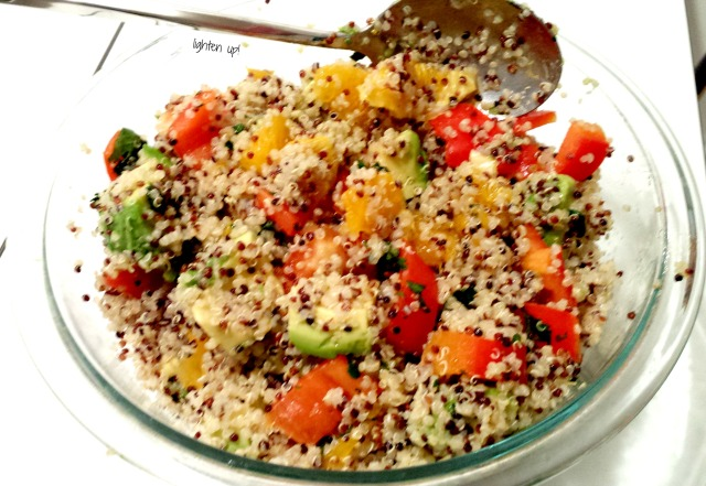 citrusy mexican-style quinoa | Lighten Up