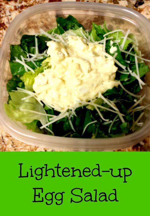 lightened-up egg salad