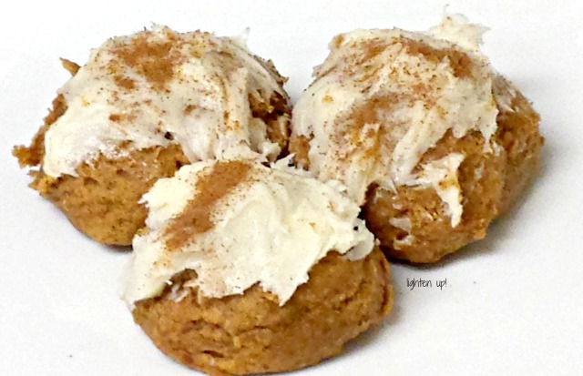Easy 3-ingredient pumpkin spice cookies